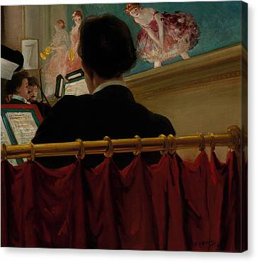 The Orchestra Pit - Old Proctor's Fifth Avenue Canvas Print by Mountain Dreams