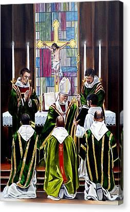 The Ordination Canvas Print