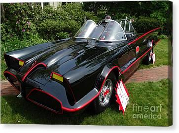 The Original 1960's Batmobile Canvas Print by Gina Sullivan