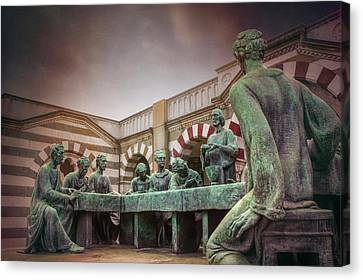 The Other Last Supper In Milan Italy Canvas Print