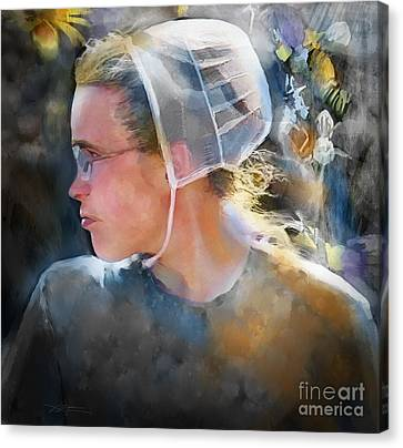 Mennonite Canvas Print - The Other Side Of Life... by Bob Salo