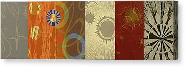 The Other Side Of The Sky Series I  2 Canvas Print by David Jansheski