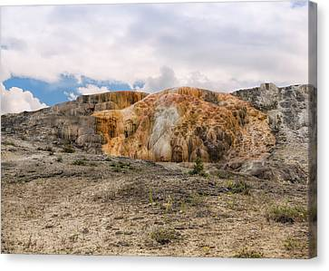 Canvas Print featuring the photograph The Other Yellowstone by John M Bailey