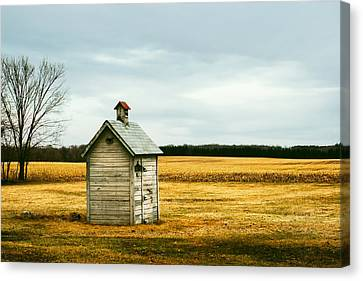 The Outhouse Canvas Print by Todd Klassy