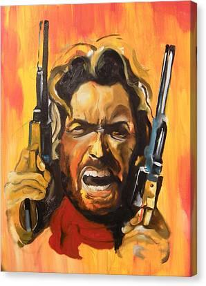 The Outlaw Josey Wales Canvas Print by Matt Burke