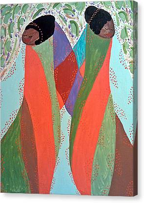 The Overseers Canvas Print by Clarissa Burton