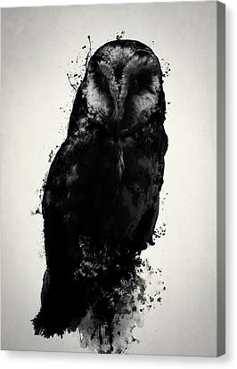 The Owl Canvas Print by Nicklas Gustafsson