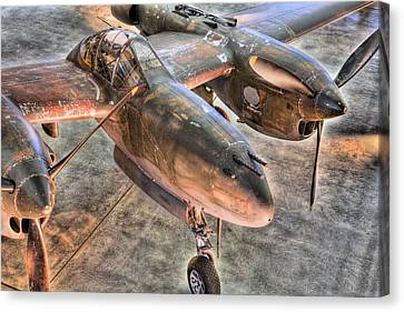 The Pacific Theater Canvas Print by JC Findley