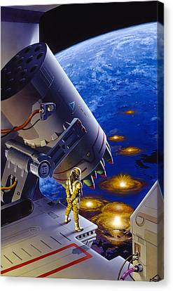 The Pacifist Canvas Print