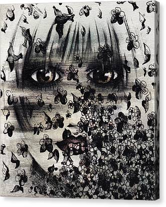 The Pajama Dream Canvas Print by Rachel Christine Nowicki