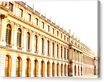 The Palace Canvas Print by Amanda Barcon