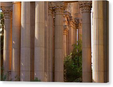 The Palace Columns Canvas Print