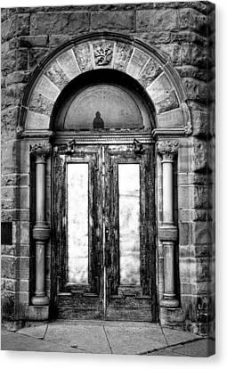 The Palace Doors Canvas Print
