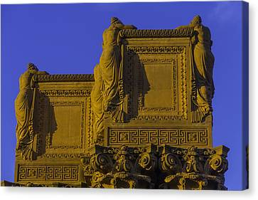 The Palace Of Fine Arts  Canvas Print by Garry Gay