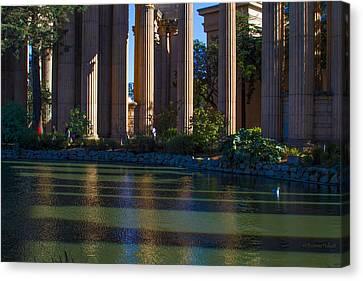 The Palace Pond Canvas Print