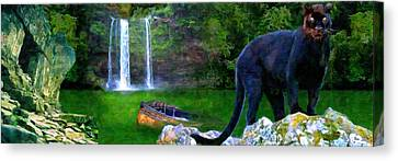 The Panther Canvas Print