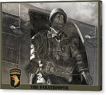 The Paratrooper Canvas Print