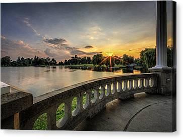 The Park Canvas Print by Everet Regal