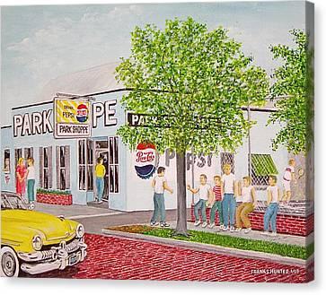 The Park Shoppe Portsmouth Ohio Canvas Print