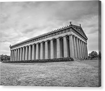 The Parthenon In Nashville V3b Canvas Print
