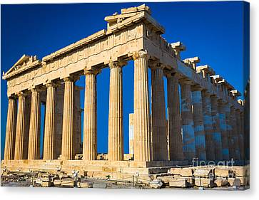 The Parthenon Canvas Print by Inge Johnsson