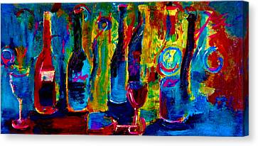 The Party Has Just Begun Canvas Print