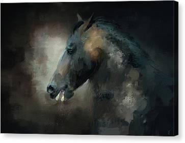 The Paso Fino 1 Horse Art Canvas Print by Jai Johnson