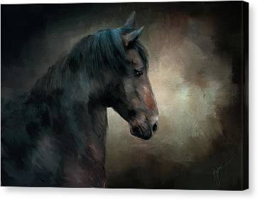 The Paso Fino 2 Horse Art Canvas Print by Jai Johnson
