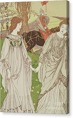 Camelot Canvas Print - The Passerby by Robert Engels