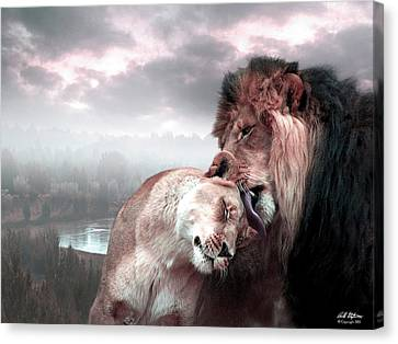 The Passion Canvas Print by Bill Stephens