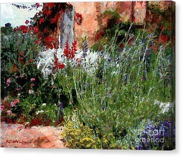 The Passion Of Summer Canvas Print by RC DeWinter