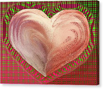 The Passionate Heart Canvas Print