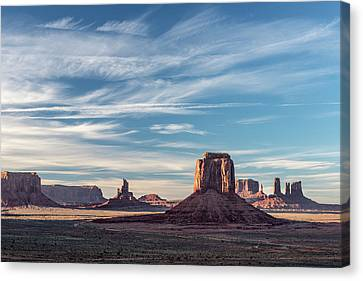 Canvas Print featuring the photograph The Past by Jon Glaser