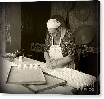 The Pastry Maker, Sardinia Canvas Print