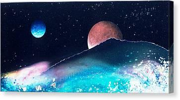 The Pastures Of Mars Canvas Print by Lee Pantas