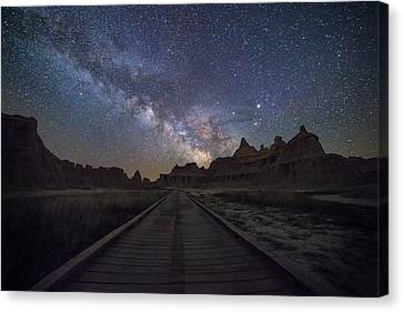 The Path Canvas Print by Aaron J Groen