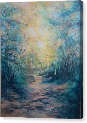 The Path Canvas Print by Becky Chappell