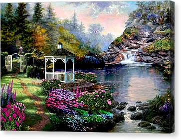 Thomas Canvas Print - The Path Least Followed by Ron Chambers