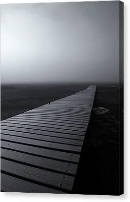 Rimrock Canvas Print - The Path by Mike  Dawson