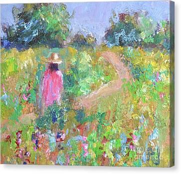 The Path Canvas Print by Philip Jones