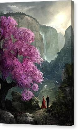 The Path Canvas Print by Steve Goad