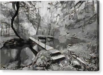 The Path To Nirvana Canvas Print
