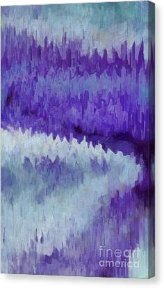 Aged Wood Canvas Print - The Path To The Amethyst Forest by Krissy Katsimbras