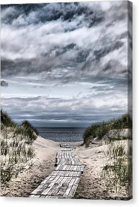 The Path To The Beach Canvas Print by Jouko Lehto