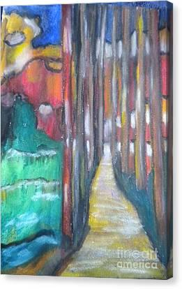 The Path Canvas Print