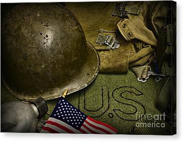 Canteen Canvas Print - The Patriot by Paul Ward