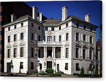 The Patterson House Canvas Print by Mountain Dreams