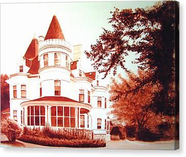 The Patton House Canvas Print by Scott Robinson