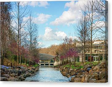 The Pavilion - Crystal Bridges Art Museum - Northwest Arkansas Canvas Print by Gregory Ballos