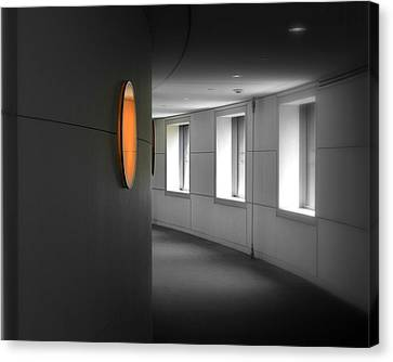 Canvas Print featuring the photograph The Peabody Essex Museum by Laura DAddona